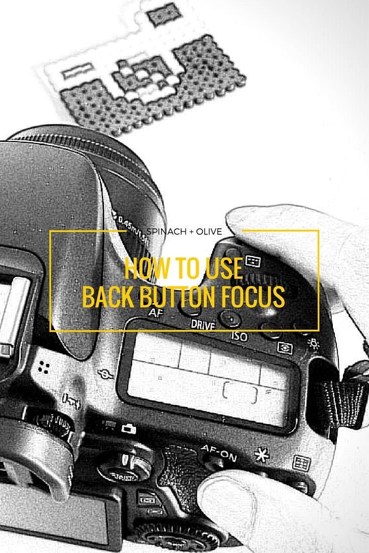 If you are wondering what Back Button Focus is and how it can help to improve your photography game, visit | http://spinachandolive.blogspot.com/2016/02/Canon-back-button-focus.html