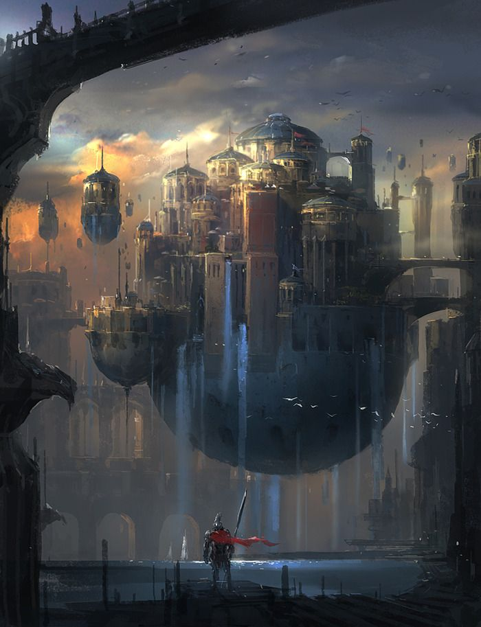 10 stunning fantasy and sci-fi illustrations from Park Jong Won