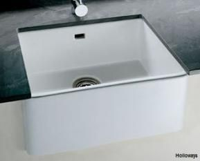Contemporary Belfast sinks, Single ceramic sinks, Ceramic sinks, Kitchen fittings, Holloways of Ludlow  £200c.