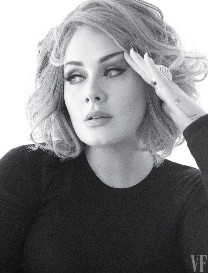 The Vanity Fair Cover Shoot: Adele, the Queen of Hearts