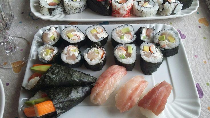 Sushi fatto in casa... secondo tentativo✌