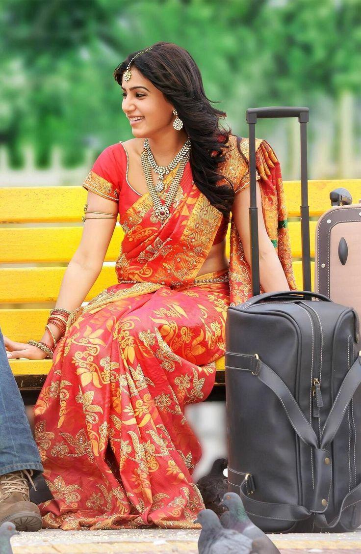 Samantha, traveller. | My love for sarees | Pinterest ...