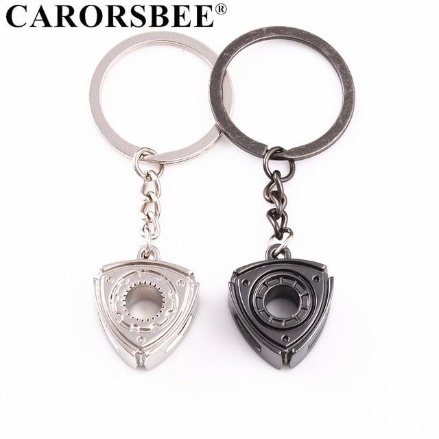 Car Key Rings Auto Accessories Motor Rotor Turbo Keychain