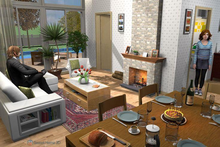 Les 25 meilleures id es de la cat gorie logiciel for Sweet home 3d cuisine