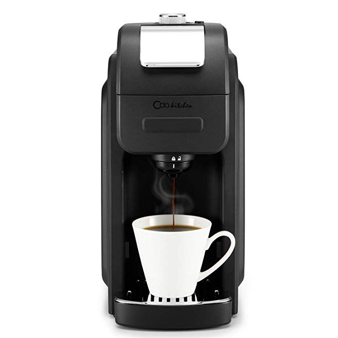Oda Kitchen 1128b Single Serve Coffee Maker Programmable With 50 Oz Large Removable Reservoir Single Serve Coffee Makers Coffee Maker Coffee Maker With Grinder
