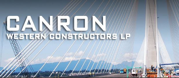 Beam Bridge Construction Materials : Canron western constructors ltd beams bridges heavy