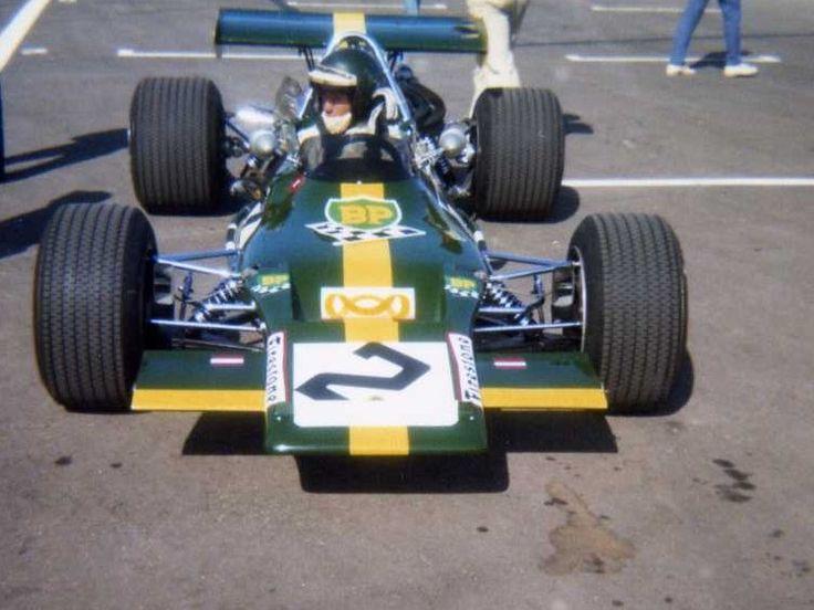 Jochen Rindt - Lotus 69 Cosworth FVA - Jochen Rindt Racing - I Trophée de France Formule 2 1970