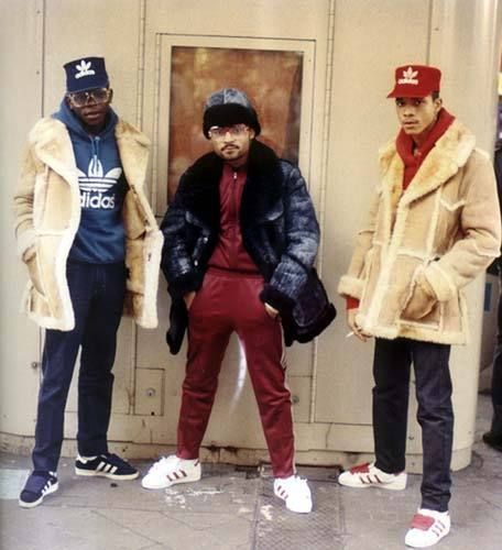 Photographer Jamel Shabazz + tell me they not fresh!! haaha shelltops x fur coats!