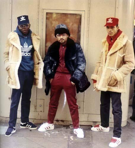 Photographer Jamel Shabazz + tell me they not fresh!! haaha shelltops x fur coats!