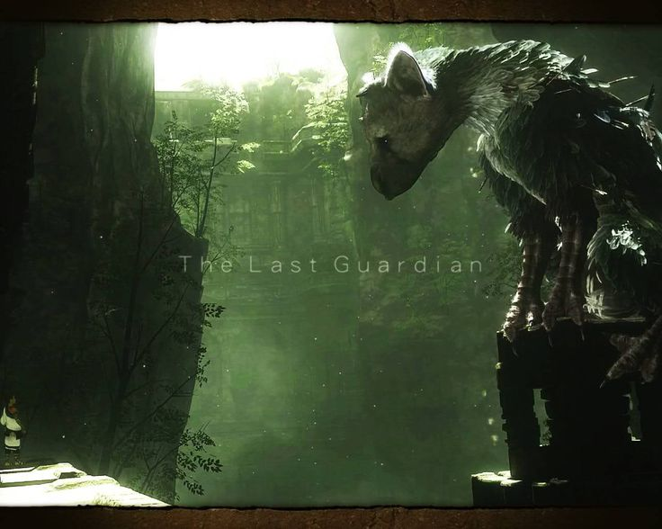 Games Movies Music Anime: The Last Guardian