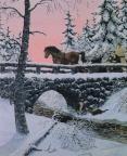 Tema: Christmas.  Juldikter, Jul-Bibelverser, Jultal, Julböcker mm  Christmas paintings by Hasse Bredenberg ]
