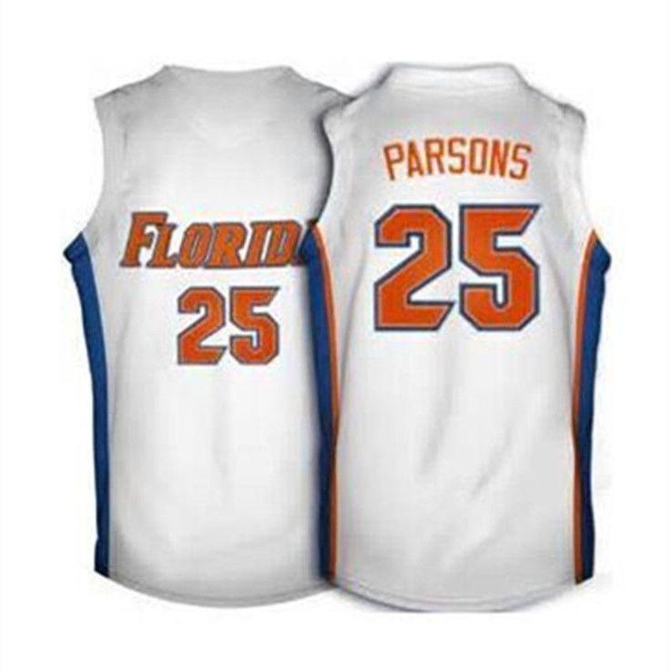 #25 Chandler Parsons Florida Gators Basketball Jerseys, blue White Retro Throwback XXS-6XL embroidery jerseys