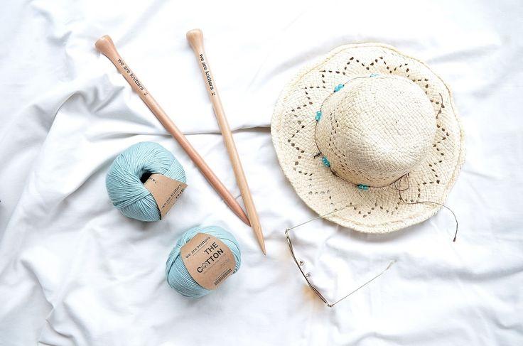 Stricken im Sommer, Stricken mit We are Knitters, Ginger Dress, we are knitters, Verlosung