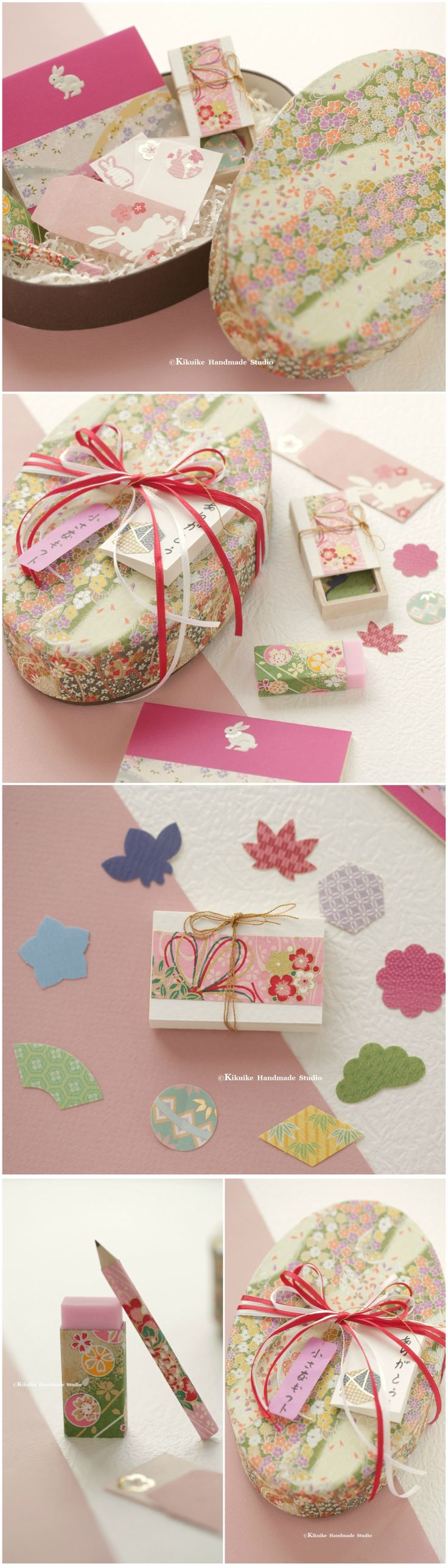 The 25 best japanese girlfriend ideas on pinterest school girl handmade japanese stationary sethand wrapped chiyogami paper gift boxvalentines giftgift for hergirlfriend giftbirthday gift holiday gift negle Images