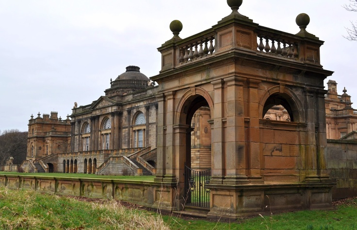 Neo Classical Architecture - Gosford House, Scotland.