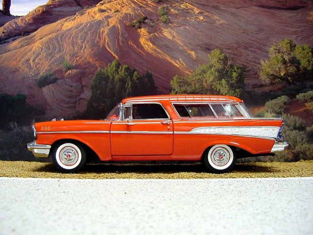 1957 Chevy Nomad1965 Mustang