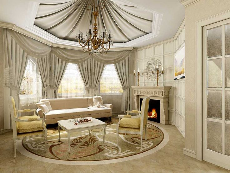 Modern Drapes Curtains Ideas For Living Room