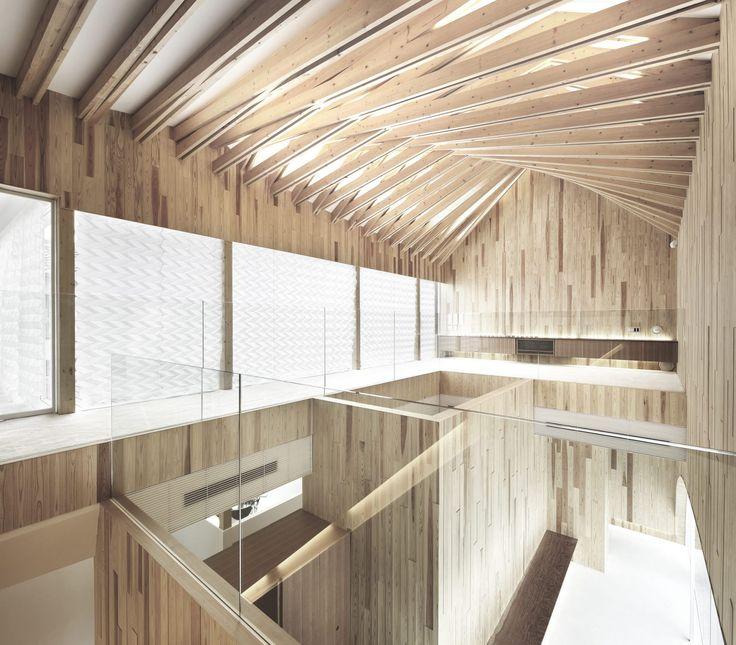 Holz architektur innenraum  26 besten Tragwerk Bilder auf Pinterest | Tragwerk ...