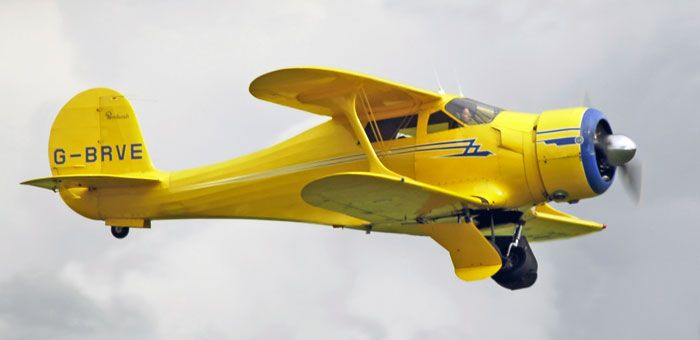 A drop-dead gorgeous Staggerwing