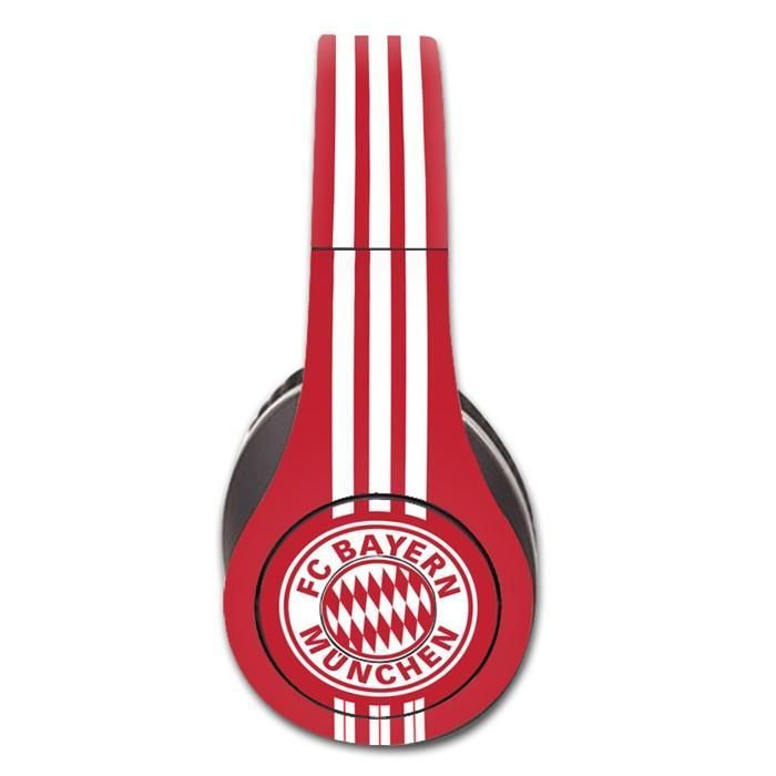 FC Bayern Munchen decal for Monster Beats Studio 1.0 wireless headphones