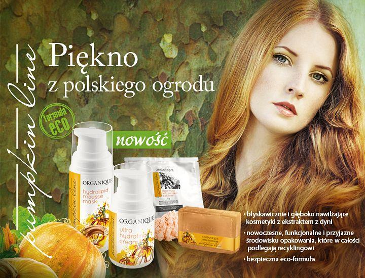 Pumpkin Line – nowa linia nawilżająca z prezentem. W październiku nowość z prezentem – przy zakupie wszystkich produktów z linii Pumpkin Line, kosmetyczka i mydełko za 1 grosz.*