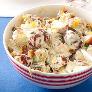 Loaded Potato Salad Recipe from Taste of Home -- shared by Monique Boulanger of…