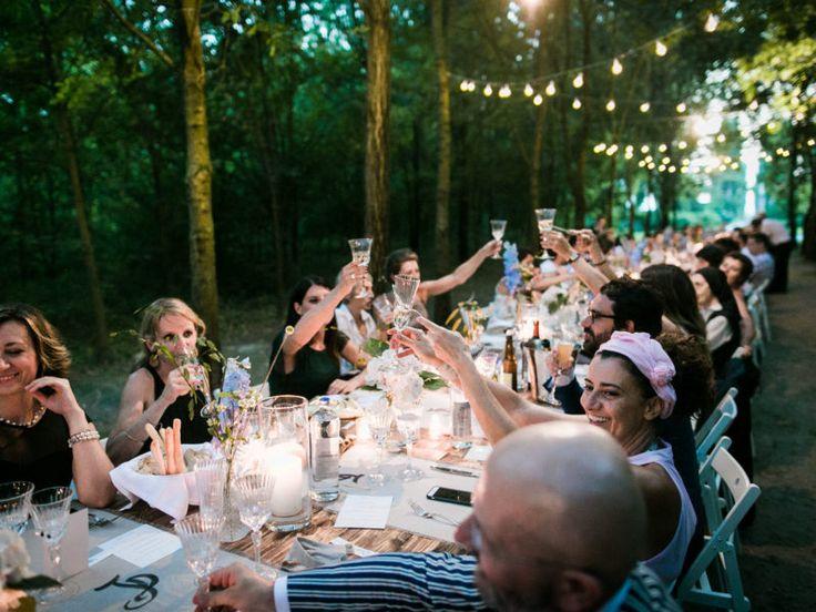 Una suggestiva cena nel bosco,  al Convento dell'Annunciata Wedding Reportage Gilberti-Ricca | Fotografi  👉 www.gilbertiricca.com #fotografomatrimonio #wedding @conventodellannunciata #conventodellannunciata