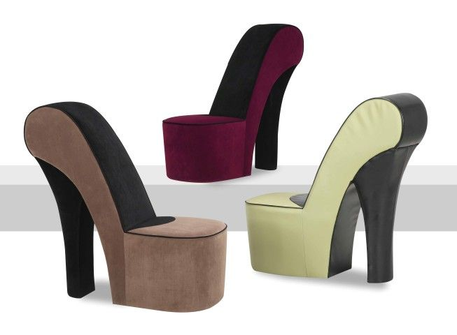 IBacall Shoe Chair   Solid