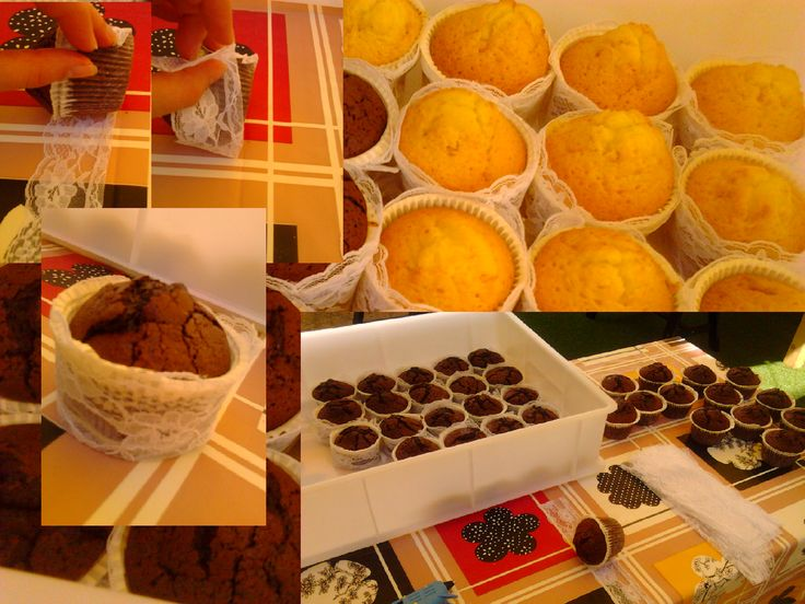 How-to : lace for cupcakes by Riso&Sorriso wedding-event planner