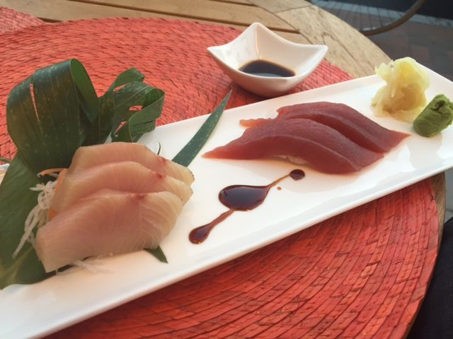 #Tuna #Sushi and Red #Snapper #Sashimi  Mix-It Restaurant - Sushi Bar has seduced the palate of all ages and has provided an accommodating atmosphere for all types of functions business and pleasure alike. A mix of #Japanese, #Thai, #Chinese, #Indonesian and #Korean #food #Cambridge and #Boston Order Online: http://www.mixitrestaurant.com/