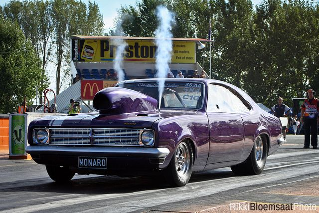 Holden Monaro on Nitrous