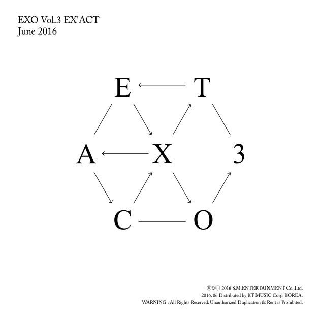 EX'ACT - The 3rd Album by EXO on Apple Music