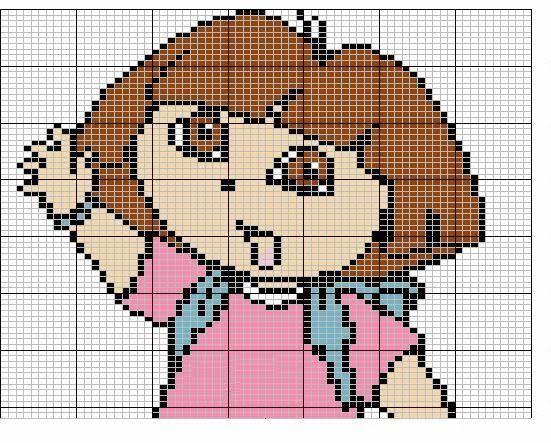 Patterns Bead Garfield Perler