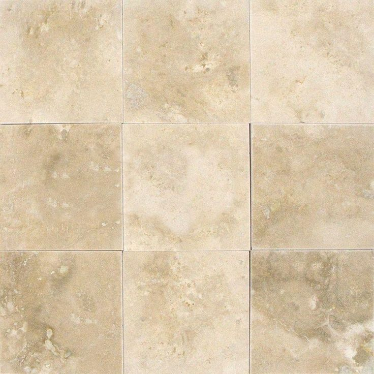 Kitchen Wall Tiles Ivory: MS International Ivory 4 In. X 4 In. Honed Travertine