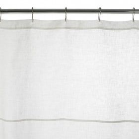 Classic Linen Shower Curtain  Traditional, Upholstery  Fabric, Bathroom Fittings  Accessory by Waterworks