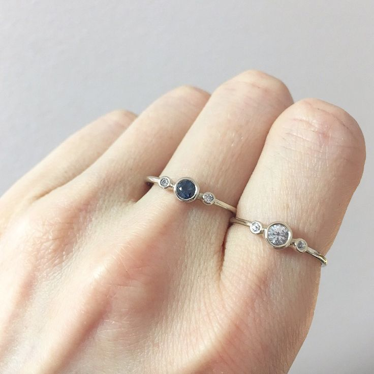 Hurry up the Worldwide Shipping is free now!! Get your baby a White Sapphire Ring