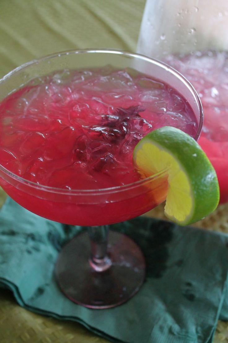 Hibiscus Margarita Recipe — Dishmaps