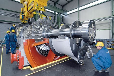 SGT5-8000H La turbina de gas refrigerada por aire más eficiente del mundo