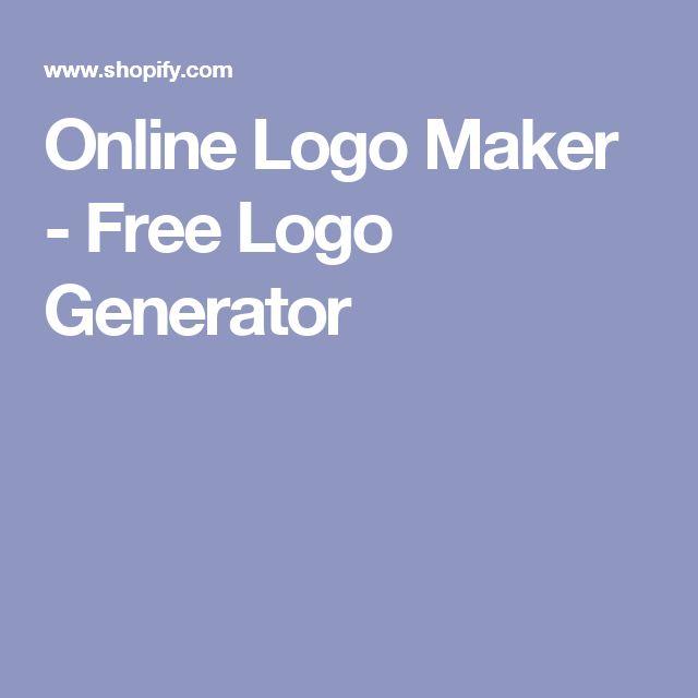 Online Logo Maker - Free Logo Generator