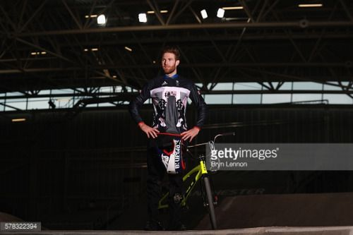 MANCHESTER, ENGLAND - JULY 21: Team GB BMX rider Liam Phillips... #horndeangb: MANCHESTER, ENGLAND - JULY 21: Team GB BMX… #horndeangb