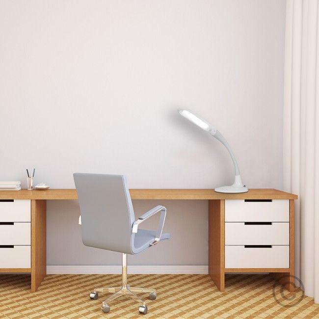 MiniSun LED Flexi Neck Desk Lamp in Tri-Colour