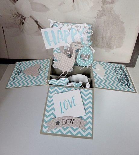 Pour accompagner un cadeau ou pour créer des invitations originales, rien de tel qu'une carte pop up !  Une carte tout à fait ordinaire fermée, qui, une fois ouverte, est posée comme une boîte et dévoile une multitude de petits éléments en 3D et en hauteur : un superbe cadeau de naissance, de mariage ou d'anniversaire à confectionner grâce à notre talentueuse muse Snoopie !! [...]Lire la suite