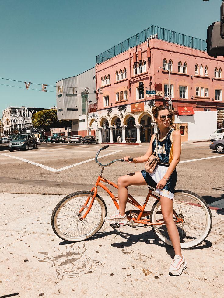 #Venice #venicebeach #california #bike #inspo #nike #style #fila #urbanoutfitters