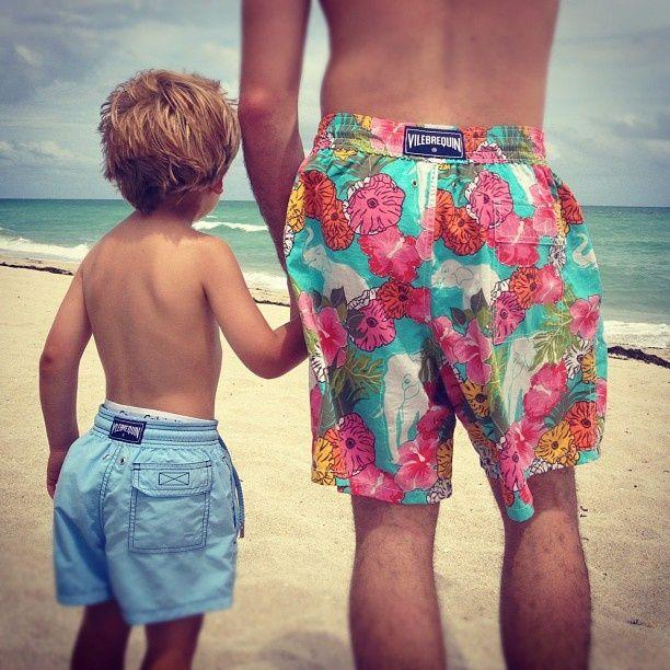 @Vilebrequin 1971 #swimwear #style #shorts #ss #beach #sand #sea #brand #colors #luxury #pin #like #dad #son #family #trip #fun