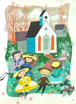 """My First Sing-A-Song Book"": A vintage children's book with Mary Blair illustrations"
