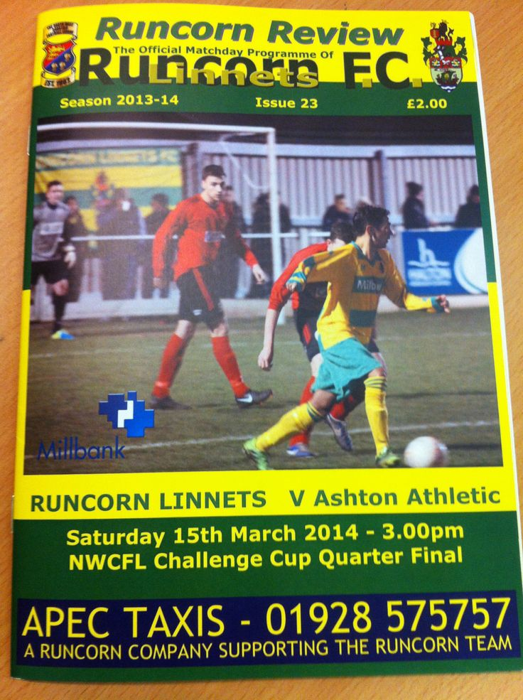 Runcorn Linnets v Ashton Athletic