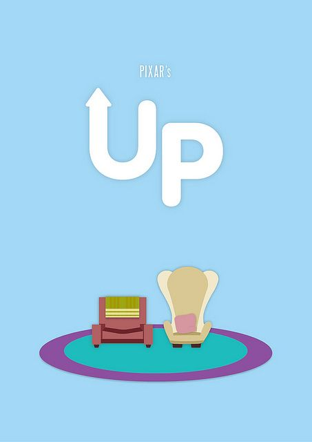 UP minimalist poster by Sabrina Jackson