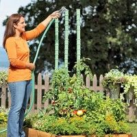 want plump, juicy tomatoes from your garden?  Then water them properly.  Here's how.  Tomato Watering Stakes