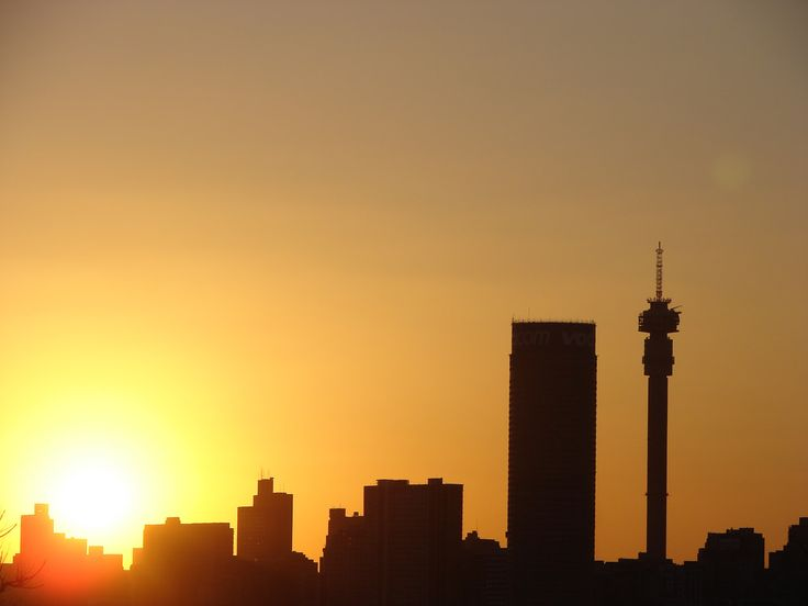 Joburg Skyline. #SouthAfrica