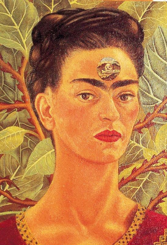 "Frida Kahlo - ""Pensando en la muerte"""
